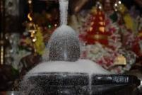 Sugar abishekam for Lord Siva