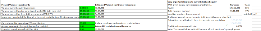 FIRE Up - Comprehensive calculator for Early Retirement 1