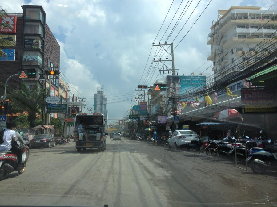 pattaya 2nd road new road