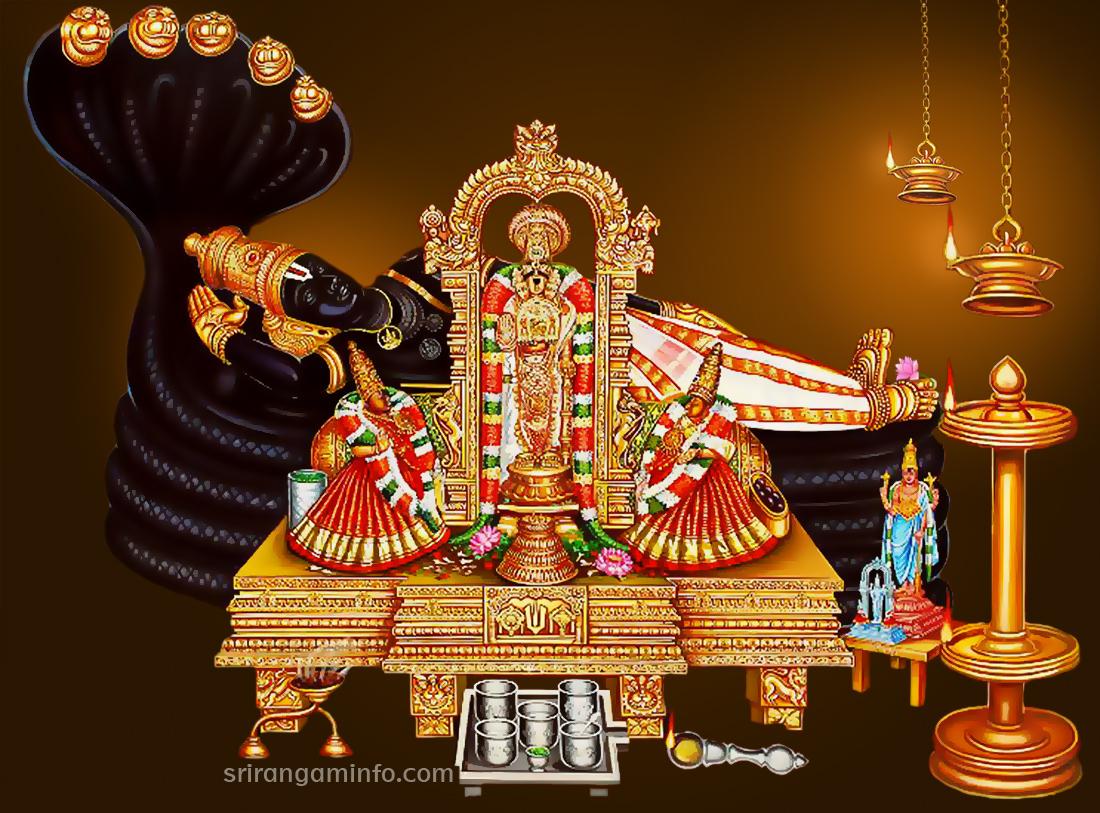 Lord Balaji Hd Wallpapers Free Download Srirangam Perumal Wall Paper