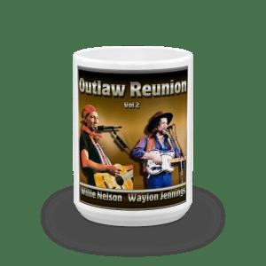 Willie & Waylon Mug