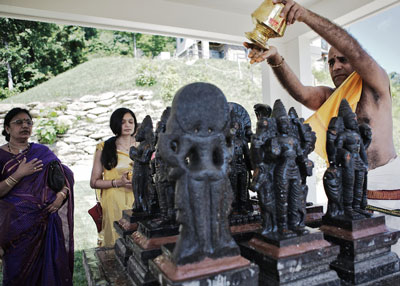 Nine Planets Navagrahas  Sri Somesvara Temple