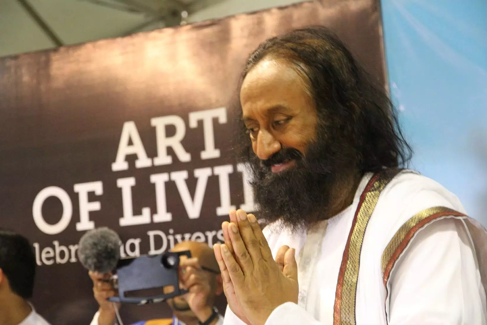 Gurudev Sri Sri Ravi Shankar reiterates the message of faith, co-existence and happiness as World Culture Festival draws to a close