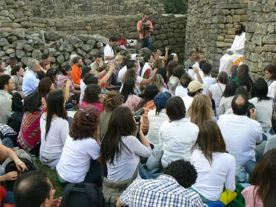 Sri Sri Visits Peru