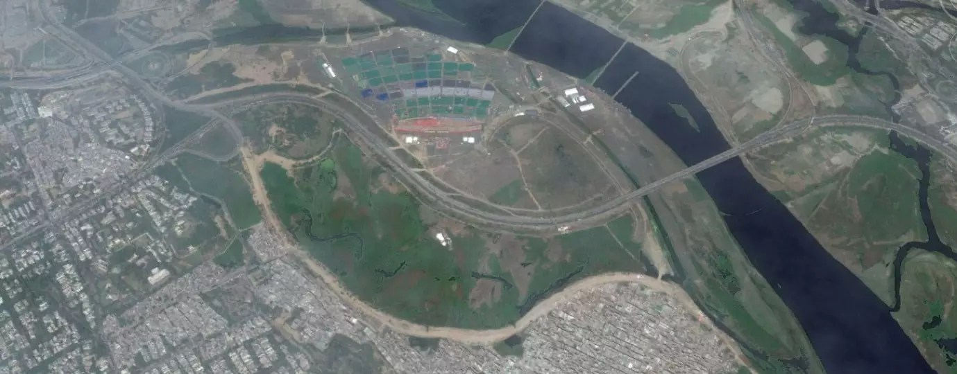 Why did the authorities give permission for WCF if Yamuna was so fragile?