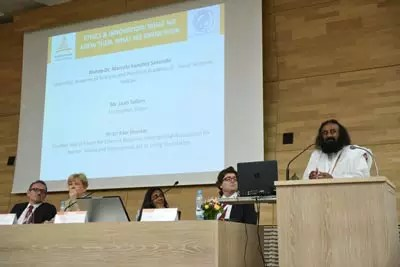 Ethics in Innovation - Spirituality shares a dais with Science