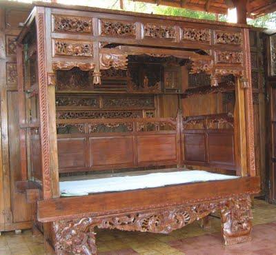 Indonesian Antique Furniture Madura Bed Sulia S Gallery