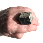 pyrite cube ring