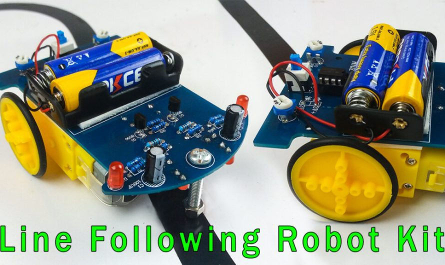 Line following Robot car kit assembly | Step by step instructions