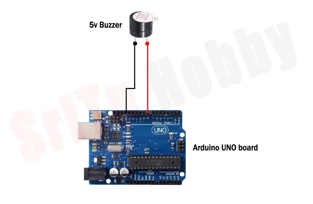 How to make buzzer sound in Arduino