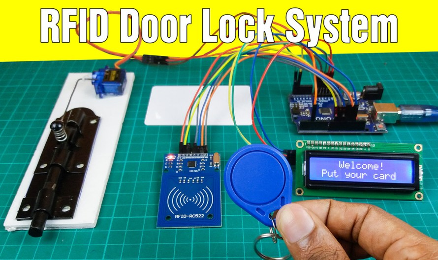 How to make a RFID door lock with Arduino | Step by step instructions