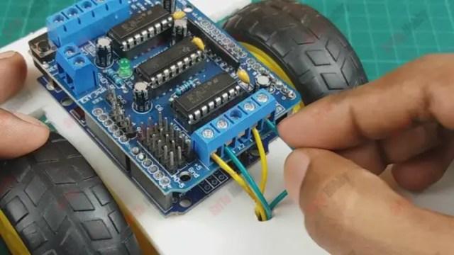 how to make a diy joystick control car