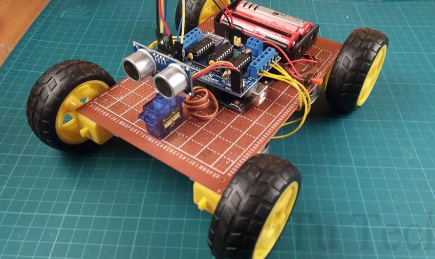 Obstacle avoidance Robot car.