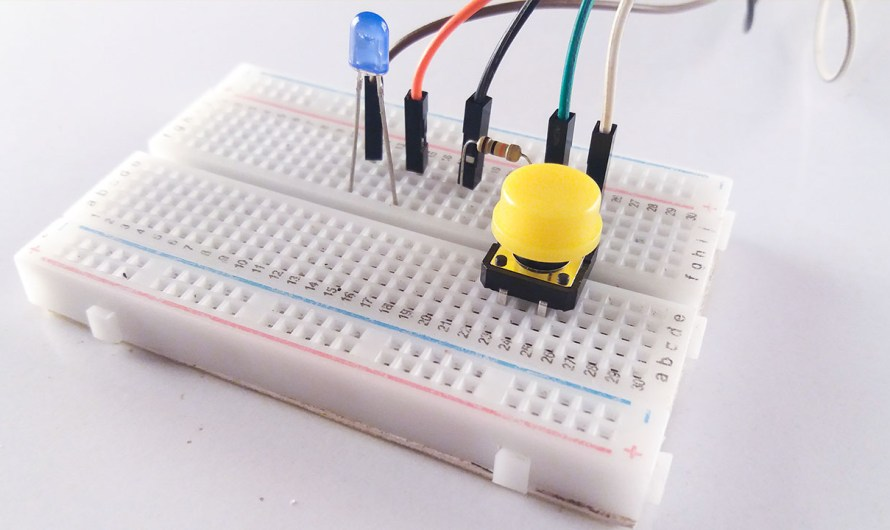 Digital input with Arduino (Push button) – How does work push button.