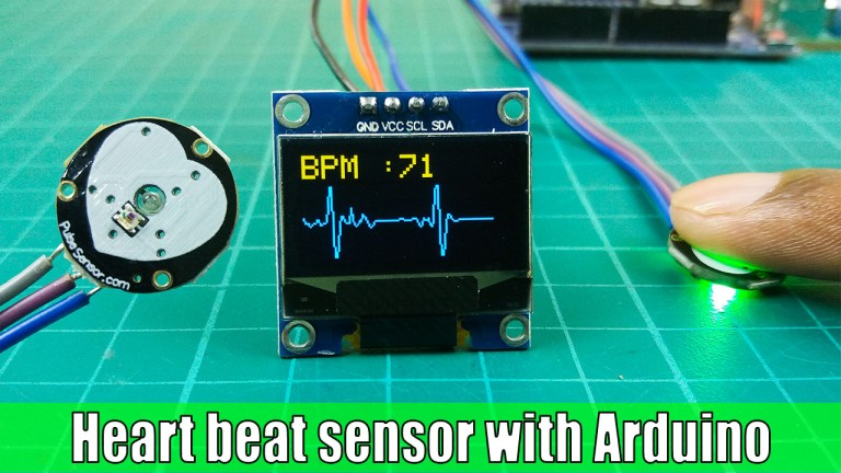 How to use the heart pulse sensor with Arduino   Heart pulse monitoring system