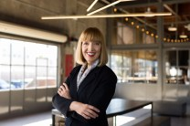 Woman Executive environmental portrait.