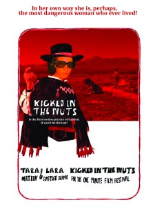 kicked in the nuts  poster 4 tara mateik