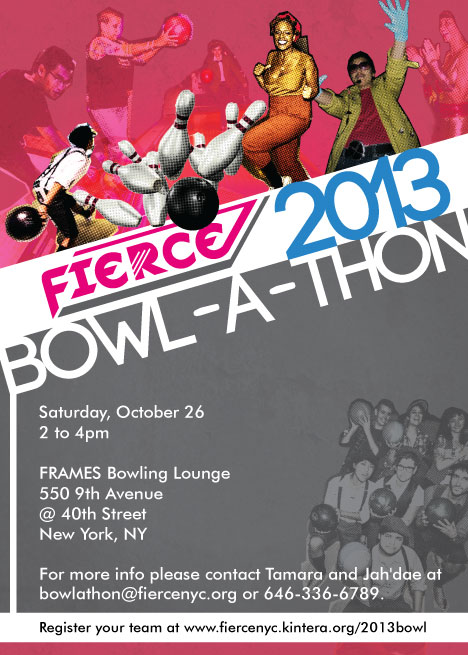 FIERCE 2013 Bowl-A-Thon