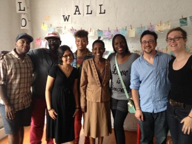 ugandan activists visit