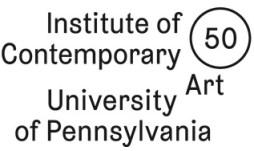 institute of contemporary art - philadelphia