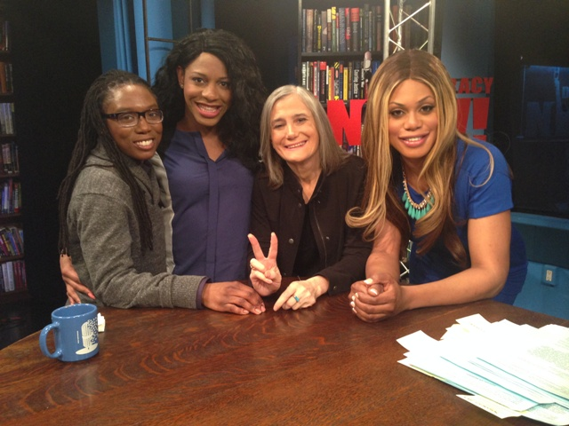 Alisha Williams, CeCe McDonald, Amy Goodman and Laverne Cox