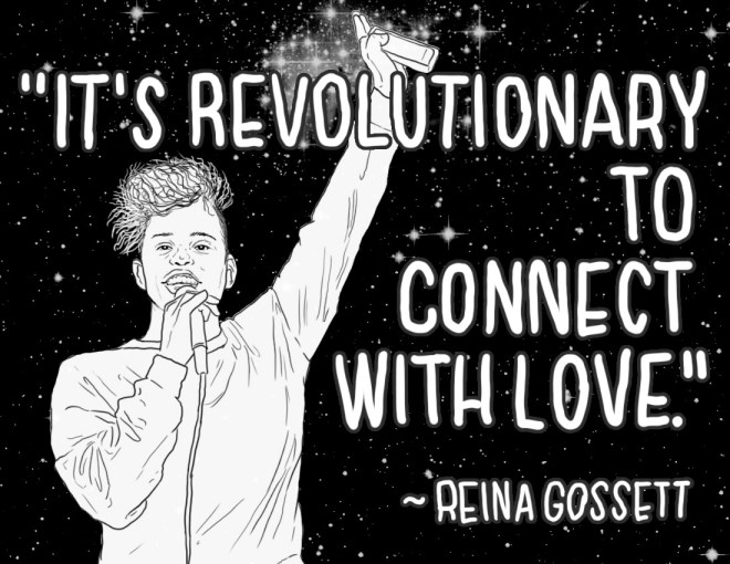 Reina - It's Revolutionary to Connect with Love