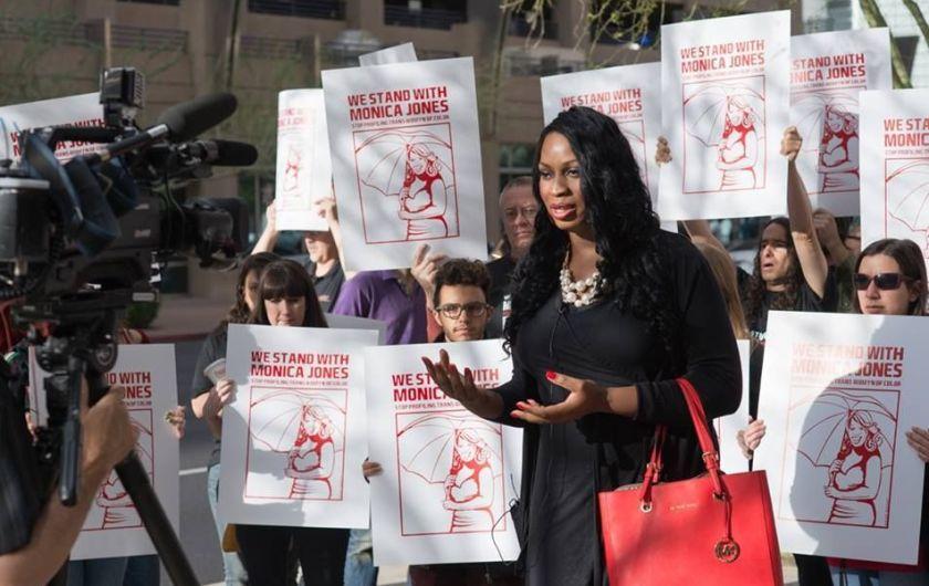 Monica Jones Activism