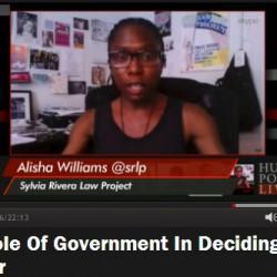 Alisha on Huffpost Live 7-23-14