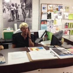 julie front desk angel