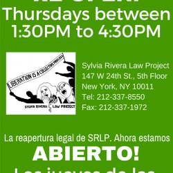 SRLP In-Take Flyer