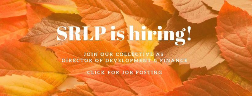 SRLP is hiring!