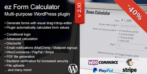 ez Form Calculator - WordPress plugin 2 10 4 4   srmehranclub com