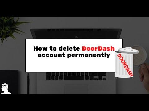 How to Delete your DoorDash Account