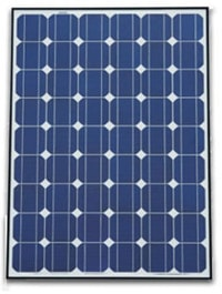 Image of a solar panel (or module).