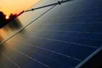 Solar Roof Sunset