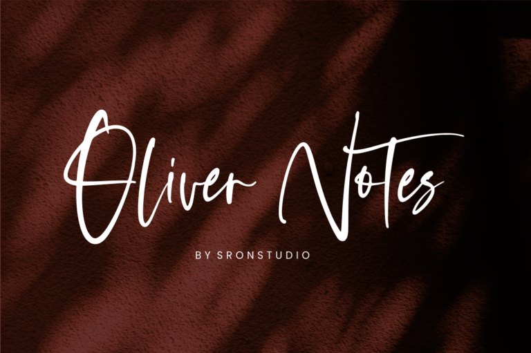 Preview image of Oliver Notes – Handwritten Font