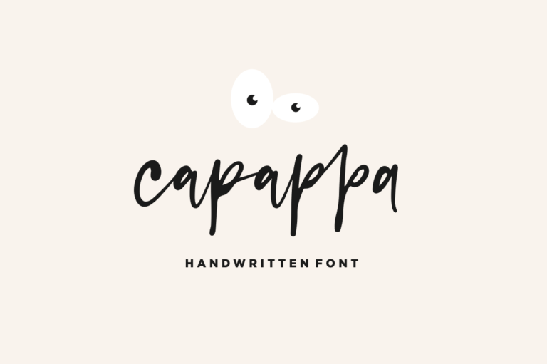 Preview image of Capappa – Handwritten Font