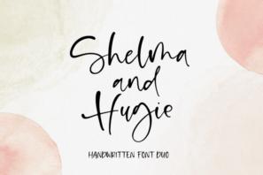 Shelma & Hugie - Font Duo
