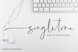 Singletone - Beautiful Script