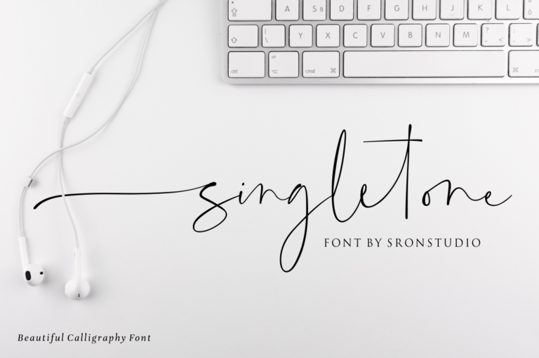 Preview image of Singletone – Beautiful Script