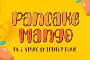 Pancake Mango - Handwritten Font
