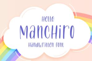 Manchiro - Handwritten Font