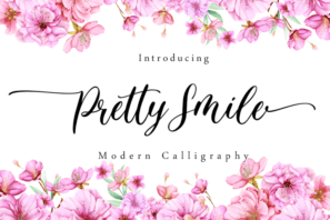Pretty Smile - Modern Calligraphy
