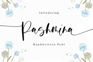Pashmina - Handwritten Font