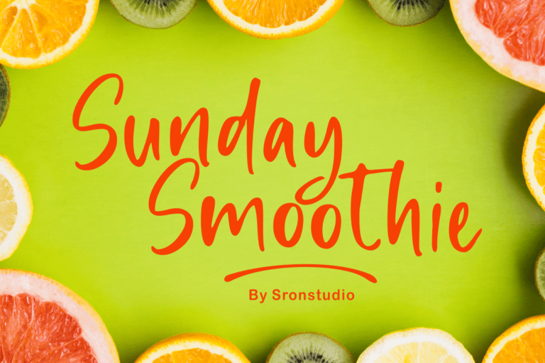 Sunday Smoothie