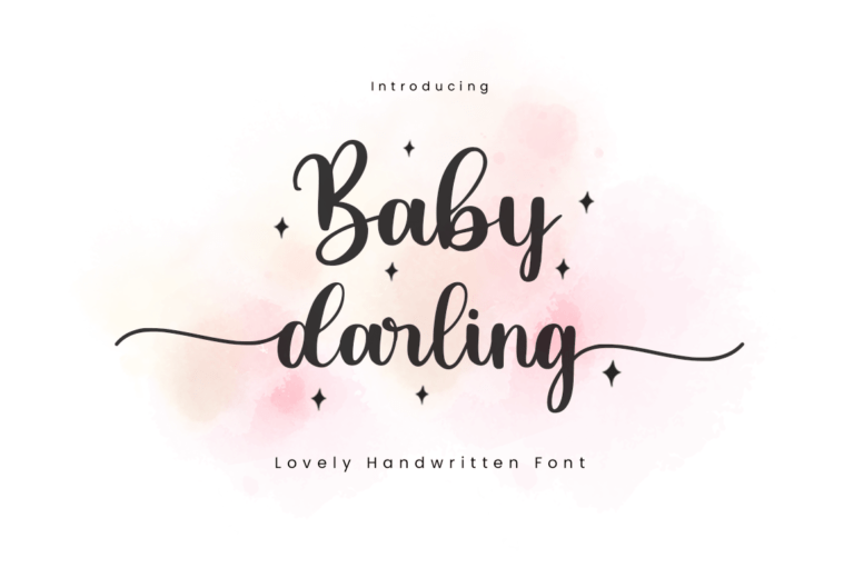 Preview image of Baby Darling Font