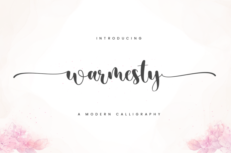 Warmesty - Lovely Font