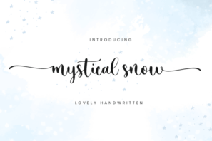 Mystical Snow - Beautiful Font