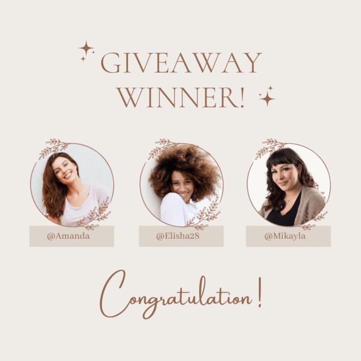 picture of Giveaway Winner – Instagram Post