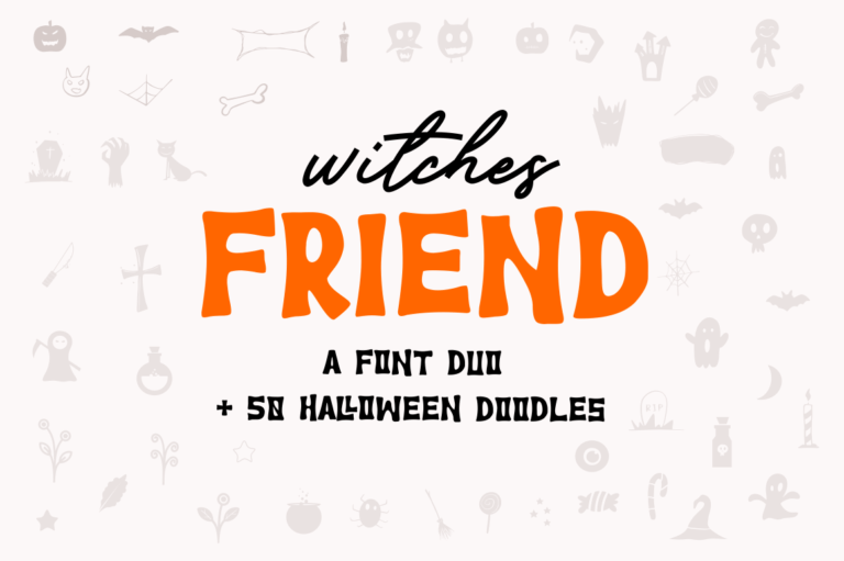 Witches Friend | Font Duo